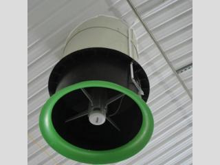 Energia hatékony ventilátorok az istállókban